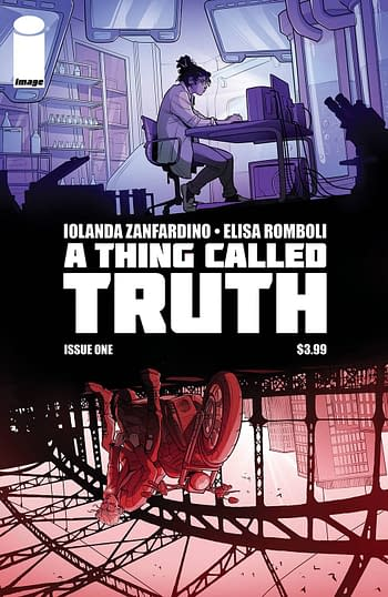 Cover image for A THING CALLED TRUTH #1 (OF 5) CVR B ZANFARDINO