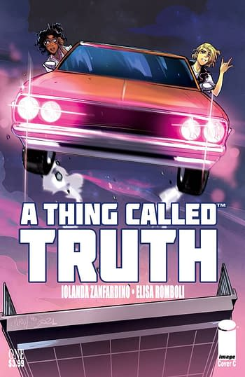 Cover image for A THING CALLED TRUTH #1 (OF 5) CVR D 10 COPY INCV ANDOLFO