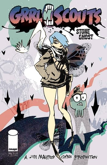 Cover image for GRRL SCOUTS STONE GHOST #1 (OF 6) CVR A MAHFOOD (MR)