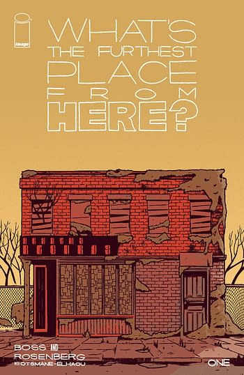 Cover image for WHATS THE FURTHEST PLACE FROM HERE #1 CVR A BOSS