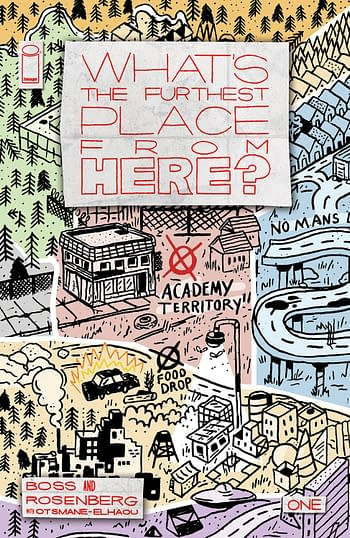 Cover image for WHATS THE FURTHEST PLACE FROM HERE #1 CVR F 50 COPY INCV