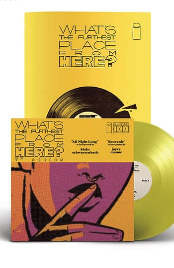 Cover image for WHATS THE FURTHEST PLACE FROM HERE #1 DLX ED 7 INCH RECORD