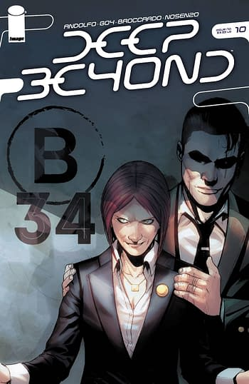 Cover image for DEEP BEYOND #10 (OF 12) CVR A BROCCARDO