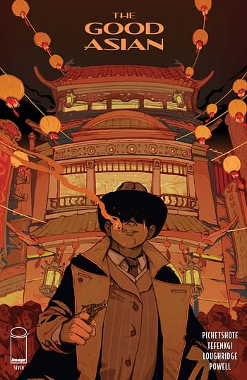 Cover image for GOOD ASIAN #7 (OF 10) CVR B CHUAYNUKOON (MR)