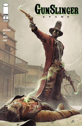 Cover image for GUNSLINGER SPAWN #2 CVR A BARENDS