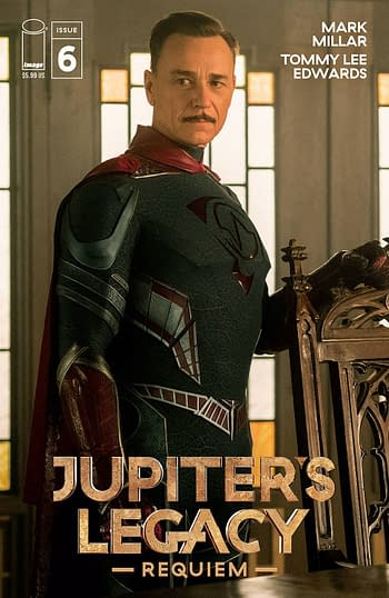 Cover image for JUPITERS LEGACY REQUIEM #6 (OF 12) CVR D NETFLIX PHOTO CVR (