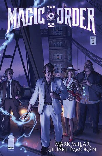 Cover image for MAGIC ORDER 2 #2 (OF 6) CVR C HA (MR)