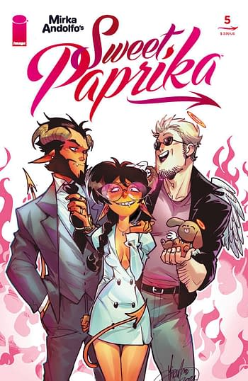 Cover image for MIRKA ANDOLFO SWEET PAPRIKA #5 (OF 12) (MR)