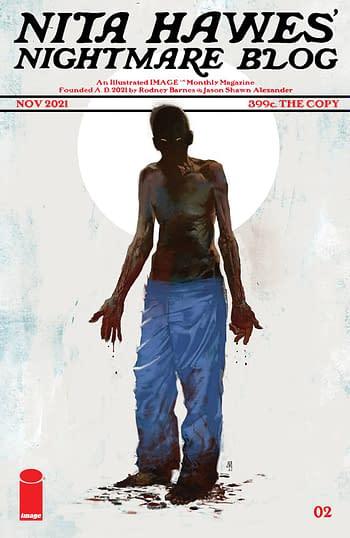 Cover image for NITA HAWES NIGHTMARE BLOG #2 CVR B ALEXANDER (MR)