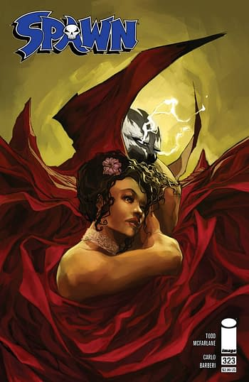 Cover image for SPAWN #324 CVR A AGUILLO