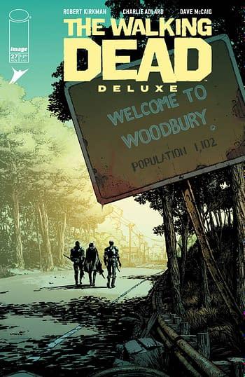 Cover image for WALKING DEAD DLX #27 CVR A FINCH & MCCAIG (MR)