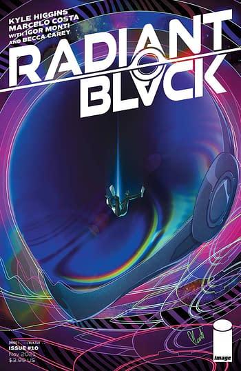 Cover image for RADIANT BLACK #10 CVR B MONTI