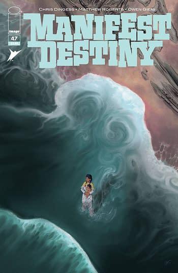 Cover image for MANIFEST DESTINY #47 (MR)