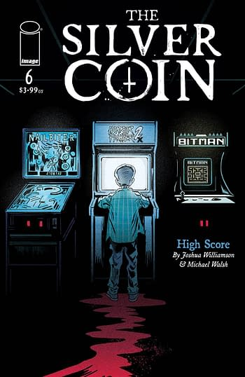 Cover image for SILVER COIN #6 CVR A WALSH (MR)