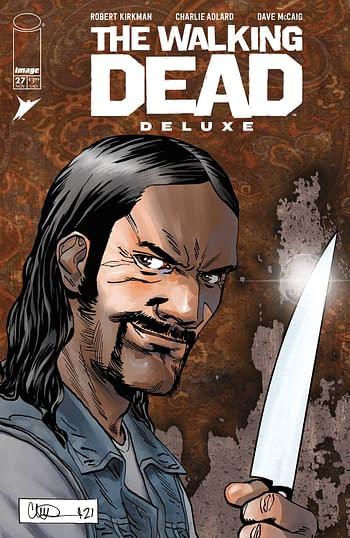 Cover image for WALKING DEAD DLX #27 CVR D ADLARD (MR)