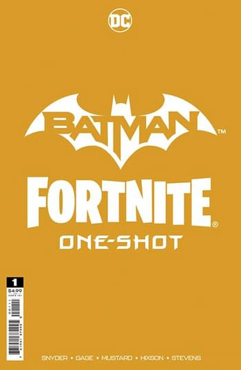 DC Fandome Will Announce Fortnite Skin With New Batman/Fortnite Comic