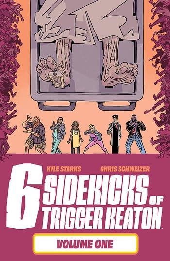 Cover image for SIX SIDEKICKS OF TRIGGER KEATON TP VOL 01 (MR)