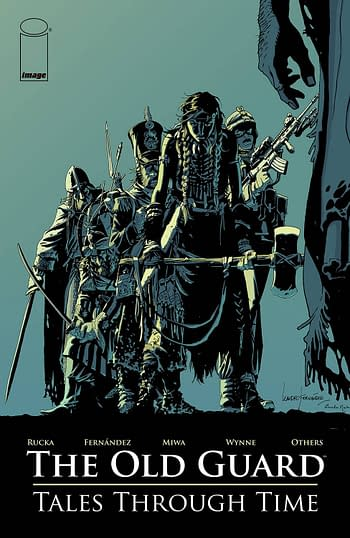 Cover image for OLD GUARD TALES THROUGH TIME TP (MR)