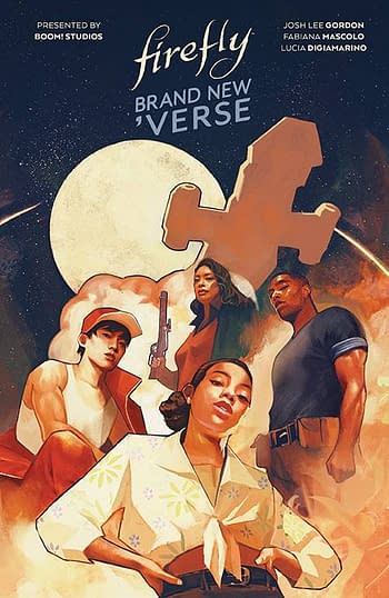 Cover image for FIREFLY BRAND NEW VERSE HC
