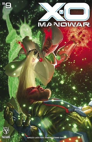 Cover image for X-O MANOWAR (2020) #9 CVR A RAHZZAH
