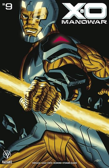 Cover image for X-O MANOWAR (2020) #9 CVR B CHO