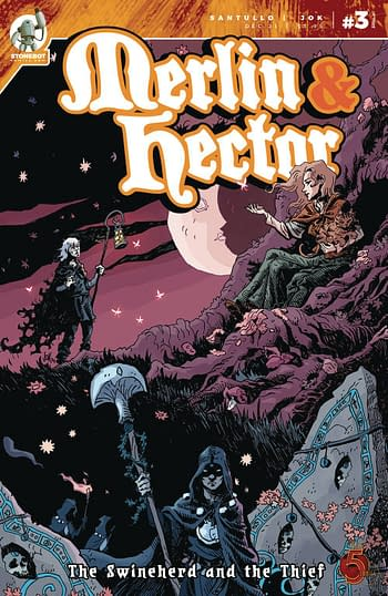 Cover image for MERLIN & HECTOR #3