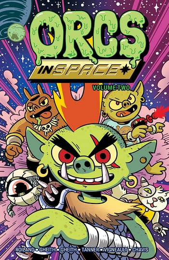 Cover image for ORCS IN SPACE TP VOL 02 (MR)