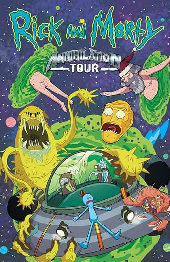 Cover image for RICK AND MORTY ANNIHILATION TOUR TP #0