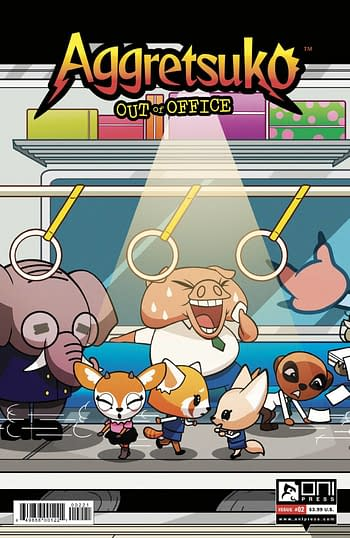 Cover image for AGGRETSUKO OUT OF OFFICE #2 CVR B MURPHY