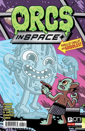 Cover image for ORCS IN SPACE #6