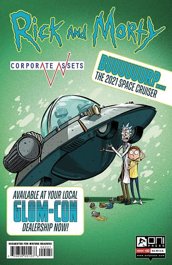 Cover image for RICK AND MORTY CORPORATE ASSESTS #2 CVR B LEE