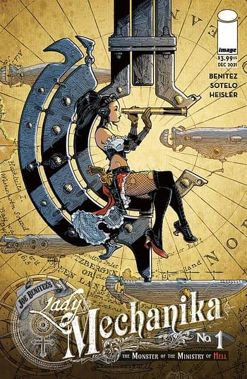 Cover image for LADY MECHANIKA MONSTER OF MINISTRY #1 (OF 4) CVR B VATINE