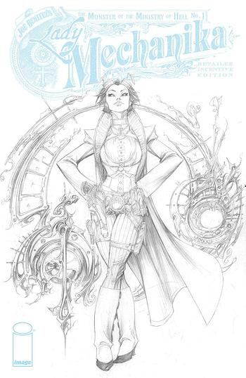Cover image for LADY MECHANIKA MONSTER OF MINISTRY #1 (OF 4) CVR C 10 COPY I
