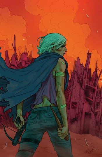 Cover image for BUFFY LAST VAMPIRE SLAYER #1 (OF 4) CVR A ANINDITO