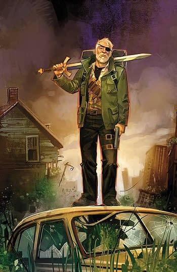 Cover image for BUFFY LAST VAMPIRE SLAYER #1 (OF 4) CVR H UNLOCKABLE REIS