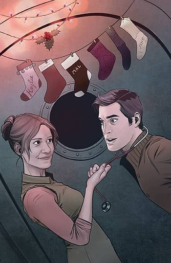 Cover image for FIREFLY HOLIDAY SPECIAL #1 CVR B YARSKY