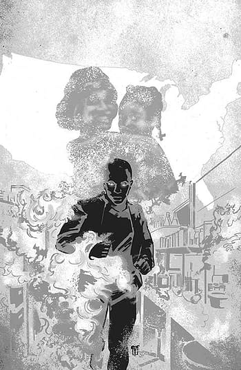 Cover image for DARK BLOOD #6 (OF 6) CVR C 10 COPY INCV DE LANDRO