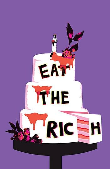 Cover image for EAT THE RICH #5 (OF 5) CVR B CAREY (MR)