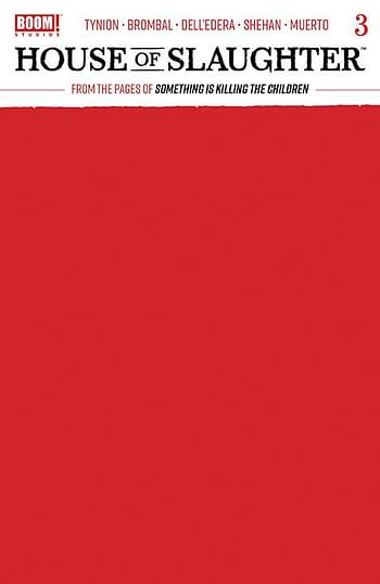 Cover image for HOUSE OF SLAUGHTER #3 CVR C BLANK SKETCH VAR