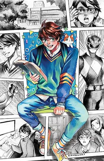 Cover image for MIGHTY MORPHIN #14 CVR E 25 COPY INCV GONZALES