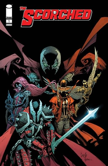 Cover image for SPAWN SCORCHED #1 CVR B CAPULLO