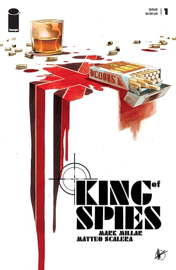 Cover image for KING OF SPIES #1 (OF 4) CVR A SCALERA (MR)