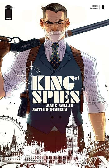 Cover image for KING OF SPIES #1 (OF 4) CVR D YILDIRIM (MR)