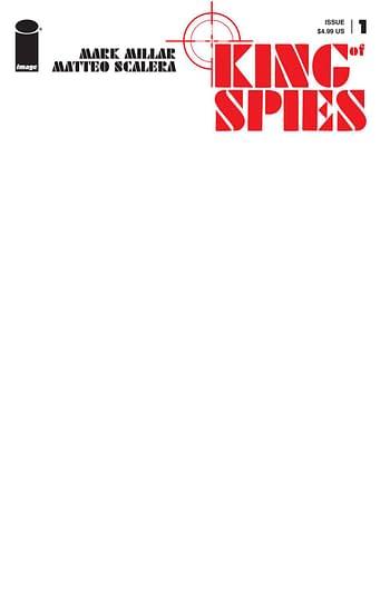 Cover image for KING OF SPIES #1 (OF 4) CVR E BLANK CVR (MR)