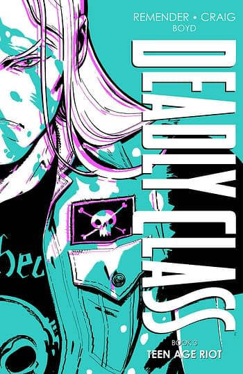 Cover image for DEADLY CLASS DLX HC VOL 03 (MR)