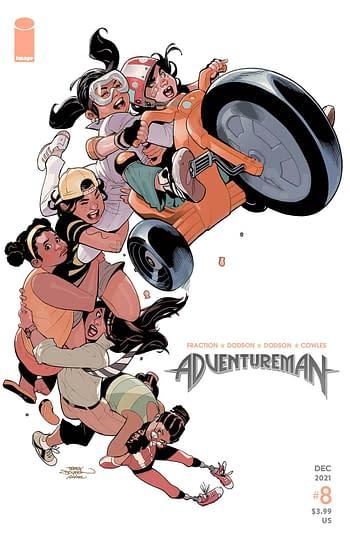 Cover image for ADVENTUREMAN #8
