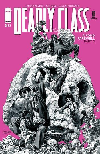 Cover image for DEADLY CLASS #50 CVR B FEGREDO (MR)
