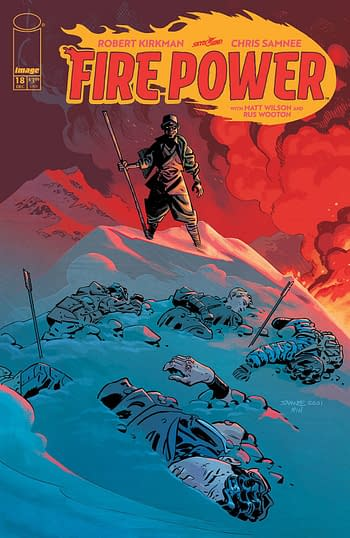 Cover image for FIRE POWER BY KIRKMAN & SAMNEE #18