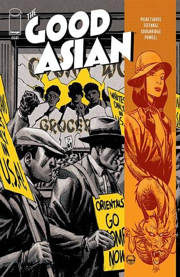 Cover image for GOOD ASIAN #8 (OF 10) CVR A JOHNSON (MR)