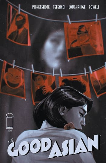 Cover image for GOOD ASIAN #8 (OF 10) CVR B MALAVIA (MR)